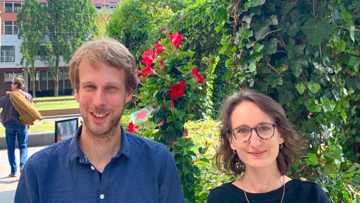 Two new post-docs join the team