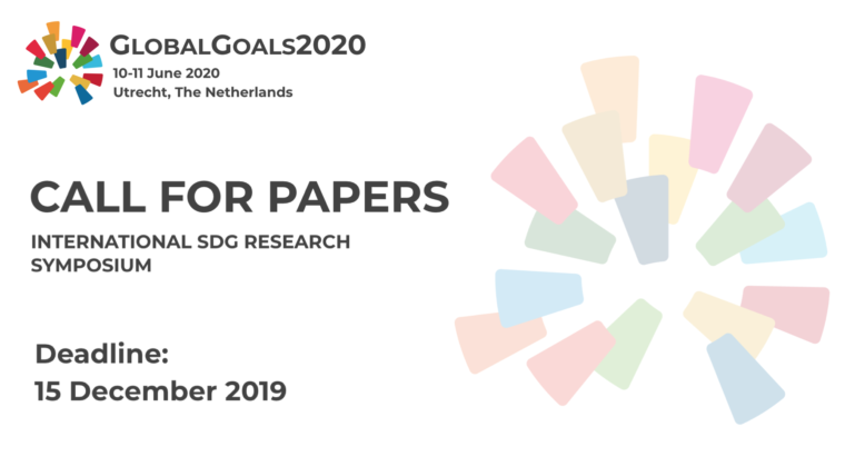 International SDG Research Symposium: Call for papers now open!