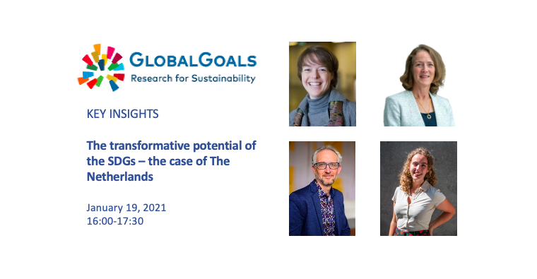 Key Insights from our Panel Discussion 'The transformative potential of the SDGs in the Netherlands'