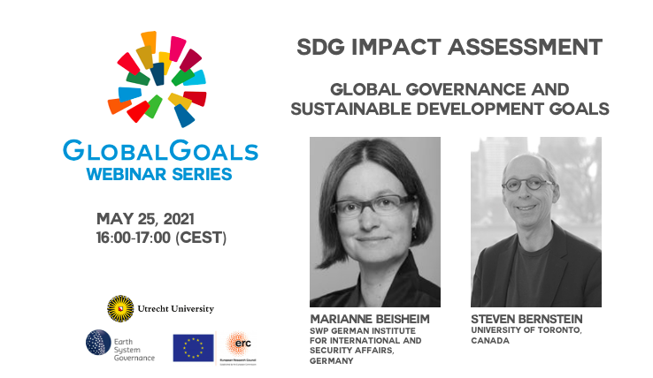 Sign up now: First episode of the GLOBALGOALS Webinar Series